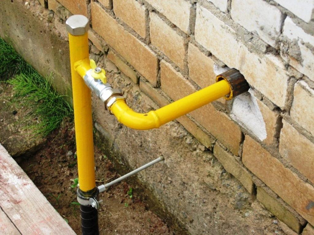 газопровод как делают выход из земли фото претит